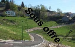 398 SEPTMONCEL : Terrains viabilisés Lot N° 3